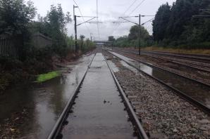Flooding causing delays to trains through St Albans