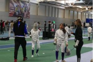 Fencing students selected for England