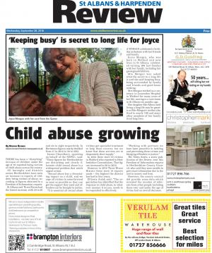 St Albans & Harpenden Review: Read the e-edition of this week's St Albans and Harpenden Review and access our online archive.